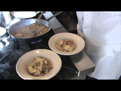 10 Minute  cod fish chowder
