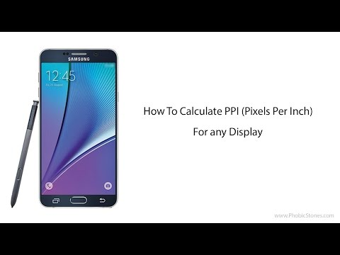 How to Calculate PPI (Pixels Per Inch) For any Display