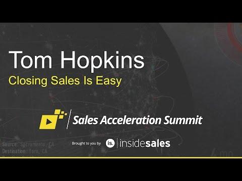 Tom Hopkins - Closing Sales is Easy
