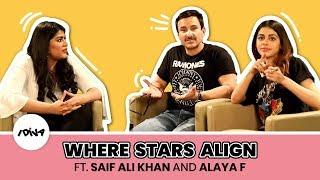 Where Stars Align Ft. Saif Ali Khan And Alaya F | Jawaani Jaaneman | RJ Sukriti | iDIVA