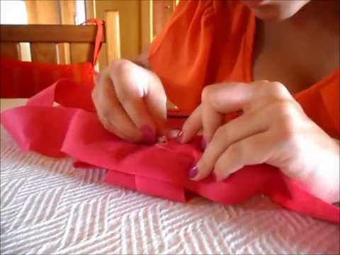 how to make a skirt for the crib