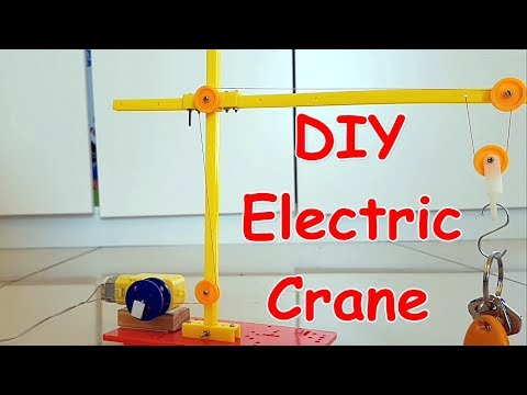 How To Make A Toy Crane