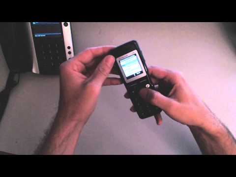 Quick Tutorial on the Polycom KIRK 5020 Wireless Handset