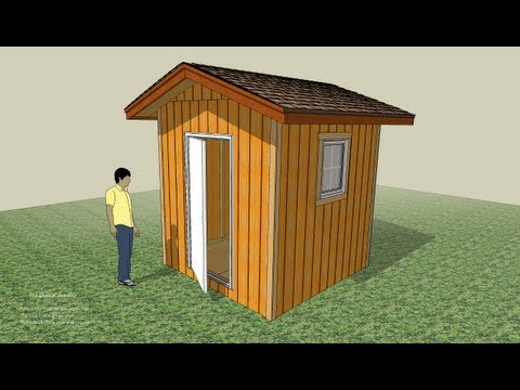 A Step Ahead to Build a Shed Tutorial Part One