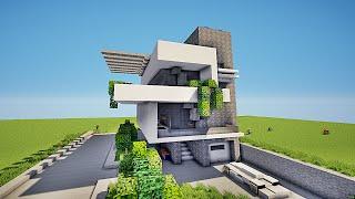 minecraft maison moderne par im2gr84u music jinni. Black Bedroom Furniture Sets. Home Design Ideas