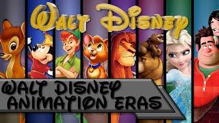 Walt Disney Animation Eras (Updated 2019)