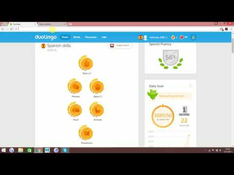 Duolingo Spanish 100%