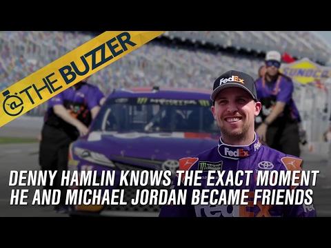 Denny Hamlin is friends with Michael Jordan | @TheBuzzer | FOX SPORTS
