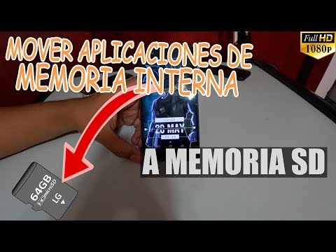Como Mover Aplicaciones de Memoria Interna a Tarjeta SD Android 2018