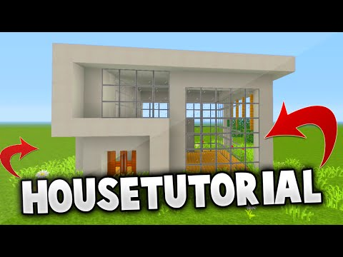 MINECRAFT: How to build easy modern house | Best house tutorial | PS3/PS4/XBOX360/MCPE/PC
