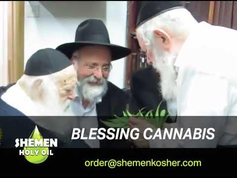 Rabbi Kanievsky blesses marijuana