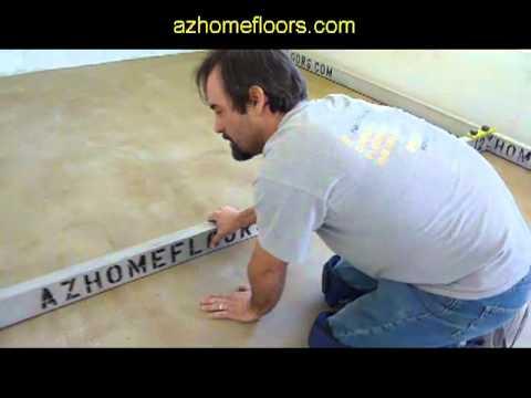 Concrete Too Un-Level For Wood Flooring?  Expert Concrete Leveling - Phoenix Hardwood Installer.