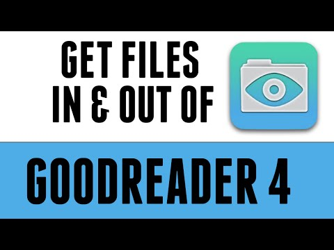 Get files in and out of Goodreader 4 on the iPad