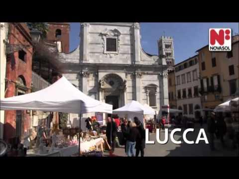 Semester i Pisa och Lucca i Toscana, Italien