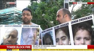 Grenfell Tower Fire: Relatives appeal over missing six members