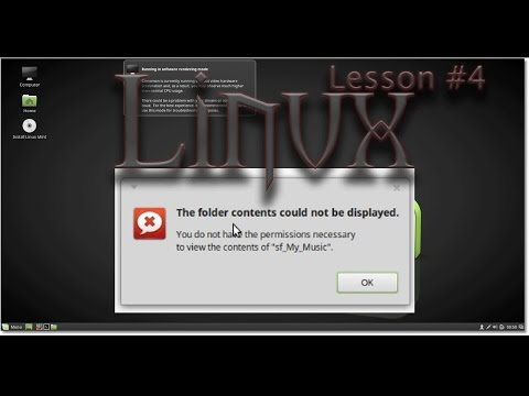 Virtualbox and Linux Mint Lesson #4 - The folder contents could not be displayed