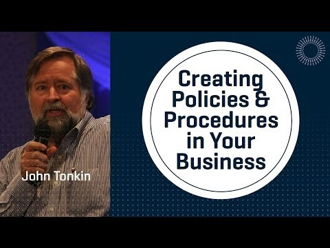 Creating Policies & Procedures in Your Business