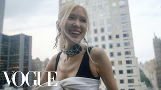 BLACKPINK's Rosé Gets Ready for the Met Gala | Vogue