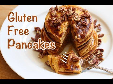 Gluten Free Sweet Potato Pancakes | Rockin Robin Cooks