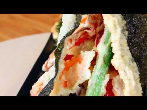 Tempura Recipe | How to make Vegetable Tempura | Tempura Vegetables