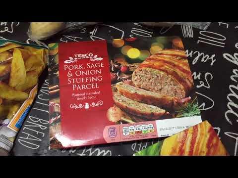 Christmas Food Essentials   TESCO & ALDI HAUL   - BEING RACHEL