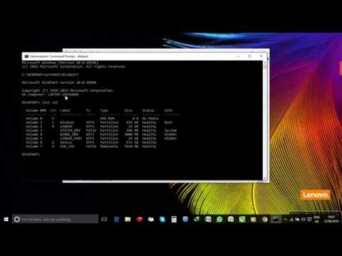 How to make a USB Drive Bootable without software (Using Command Prompt))
