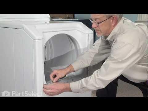 Dryer Repair- Replacing Idler Pulley Wheel (Whirlpool Part# 6-3700340)
