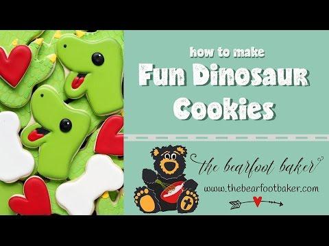 Dino cookies    The Bearfoot Baker