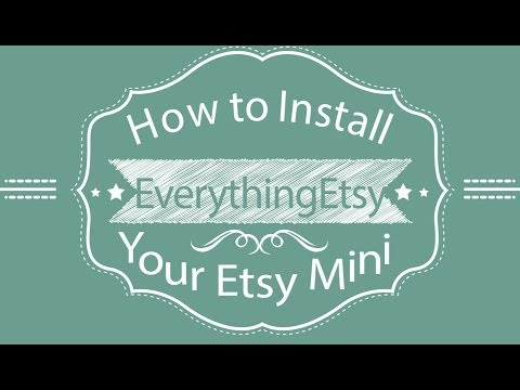 How To Install Your Etsy Mini in WordPress