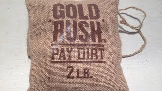 """Paydirt Gold 2lb """"GoldRush"""" Paydirt Review (PaydirtGold.com)"""