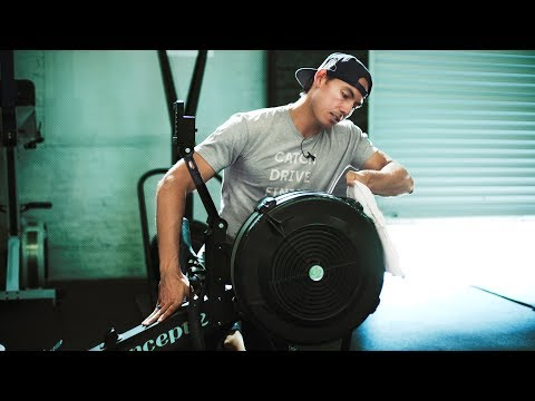 Concept2 Rowing Machine Maintenance: Part 1 Everyday Cleaning and Care