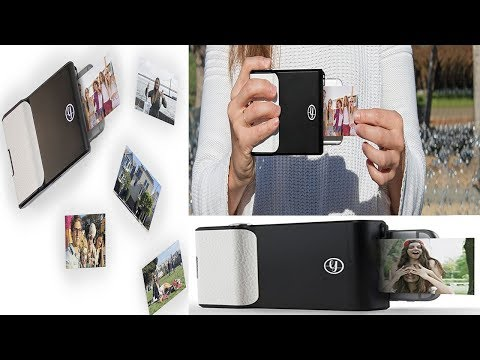 Get Instant Photo Prints with The Prynt Classic for Apple iPhone 6s , iPhone 6 , and iPhone 7 - Blac