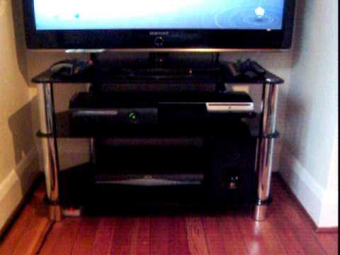 *My Gaming Setup / Tech Room 2010, Xbox 360, PS3, 40