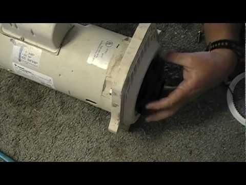 Repairing a Pentair Whisperflo pump and motor part 1