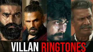 Top 7 Villain Mass BGM RINGTONES || Kaithi ,Kalki ,Darbar ,Avane Srimannarayana, alavaikuntapuramlo,