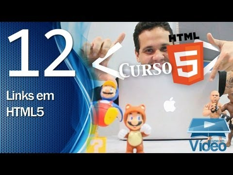 Curso de HTML5 - 12 - Links em HTML5 - by Gustavo Guanabara