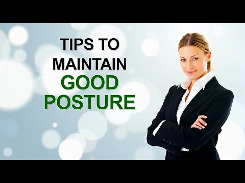 Chiropractic Videos in HD TV - Tips To Maintain Good Posture - 2016-11 Week 3