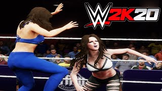 Kate Beckinsale v Gal Gadot! - WWE 2K20 Requested 2 Out Of 3 Falls Count Anywhere Match