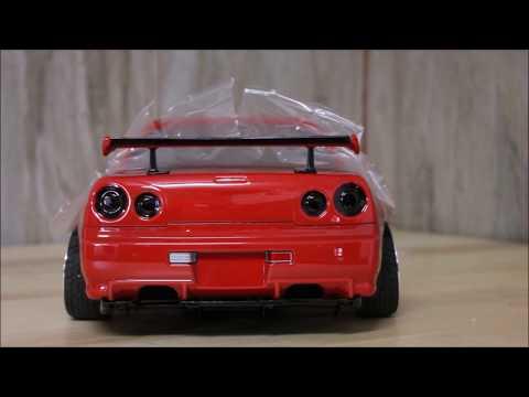 eac RC Body Build -- Killerbody Nissan Skyline R34 GTR