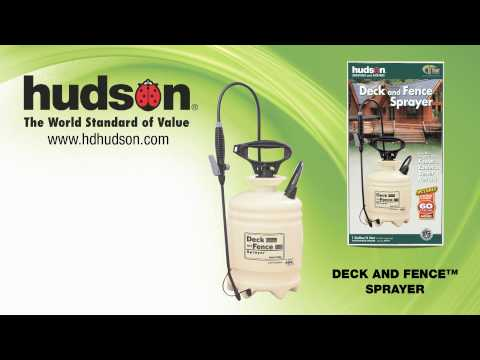 Hudson® DECK and FENCE™ Sprayer Video Overview HD