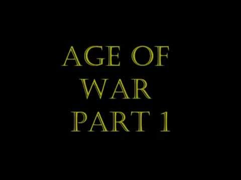 Age of War Gameplay Part 1 - The Stone Age