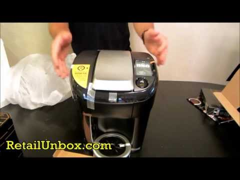 KEURIG VUE BREWER UNBOXING! V500 Single Cup Brewing System NEW FEATURES.