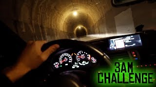i drove down the tunnel at 3 am... (chased by phantom bus)