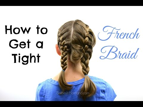 How to get a Tight French Braid | Hair Tips | BabesInHairland.com