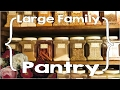 Our Pantry - Large Family, Small House Organization - Part 7
