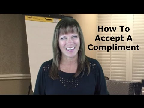 How To Accept A Compliment - Real Women Real Success