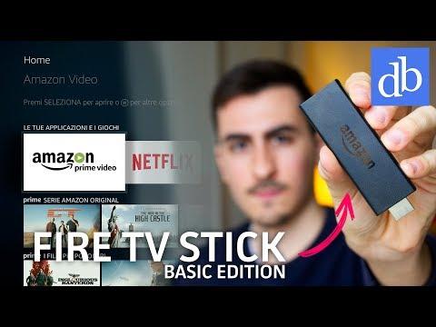 FIRE TV STICK BASIC EDITION È DA COMPRARE! Amazon Fire TV Stick ITA recensione • Ridble