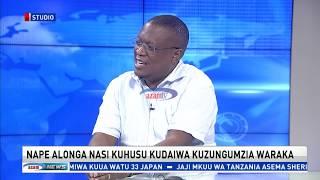 Nape Nnauye afungukia sauti inayohusishwa naye na waraka wa makatibu wastaafu wa CCM