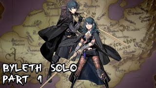 Fire Emblem: Three Houses - Byleth Solo Part 1 (Maddening / New Game)