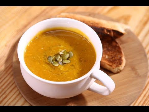 Green Apple and Pumpkin Soup | Apple Tasty Delight | Chef Anupa | Sanjeev Kapoor Khazana
